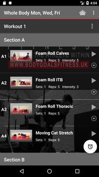 Bodygoals Fitness screenshot 2