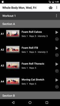 Tailored Fitness screenshot 2