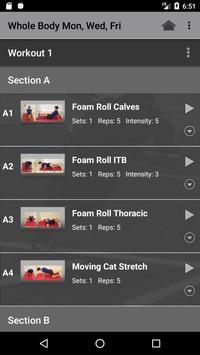 The 1 Fitness & Performance screenshot 2