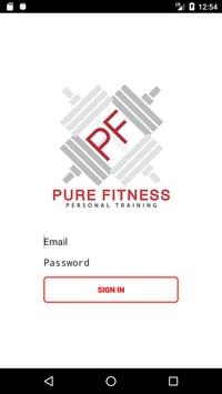 Pure Fitness Personal Training poster