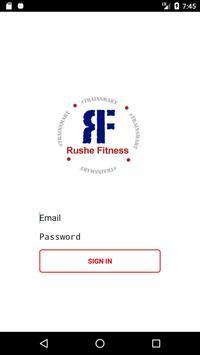 Rushe Fitness poster