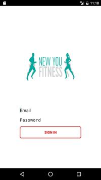 New You Fitness poster