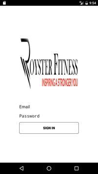 Royster Fitness apk screenshot