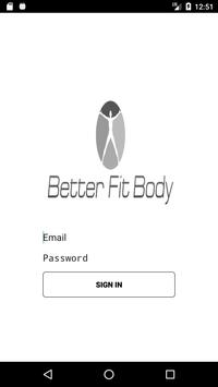 Better Fit Body poster