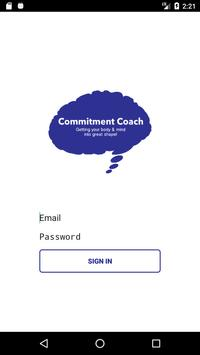 Commitment Coach poster