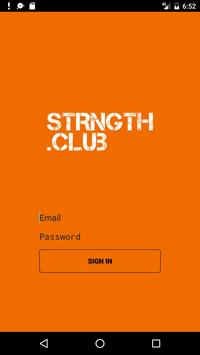 STRNGTH poster