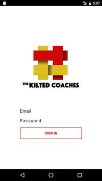 Kilted Coaches poster