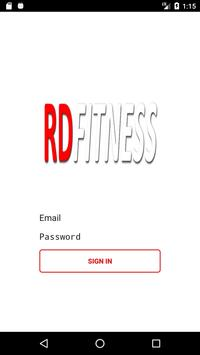 RD Fitness poster