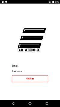 Eat Live Exercise apk screenshot
