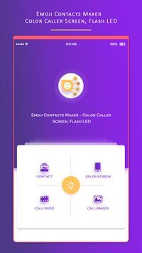 Emoji Contacts Maker Color Caller Screen Flash LED screenshot 7