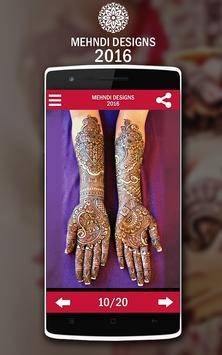 Mehndi Design screenshot 8
