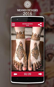 Mehndi Design screenshot 9