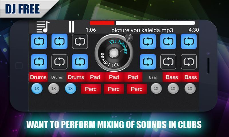 dj mixer download jio phone