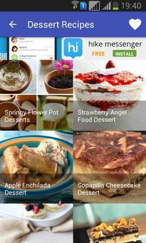 Dessert Recipes poster