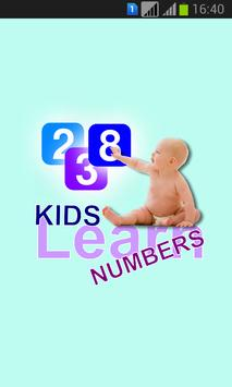 Kids Learn Numbers poster