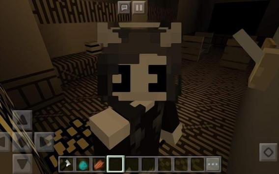 Skin Bendy For MCPE poster