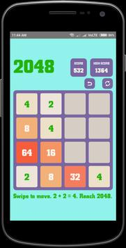 2048 Game poster