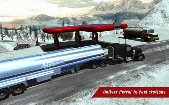 Off road Oil Tanker Fuel Truck poster