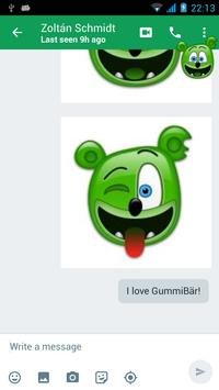 Gummibär The Gummy Bear Emojis apk screenshot