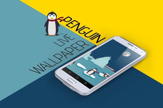Penguin Live Wallpaper apk screenshot