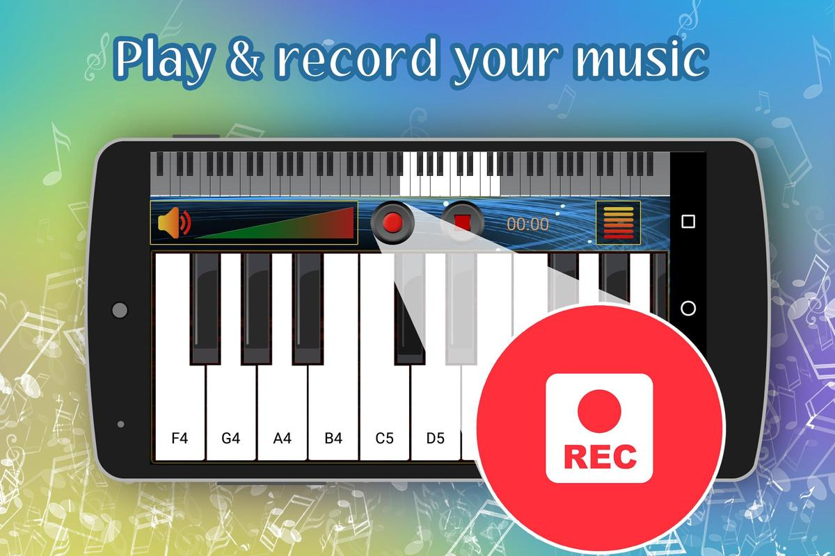 Real Piano Keyboard For Android