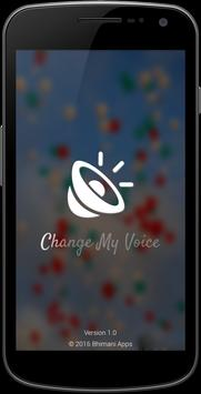 Change My Voice poster