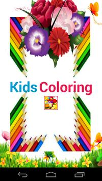 Kids Coloring - Have a Fun poster