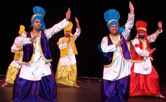 Punjabi Bangra Dance poster