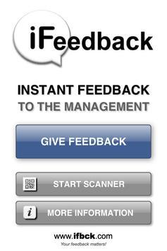 iFeedback ifbck.com poster