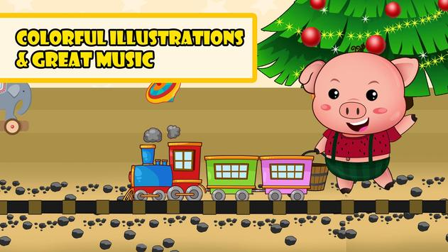 Piggy On The Railway poster