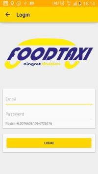 Food Taxi Rider poster
