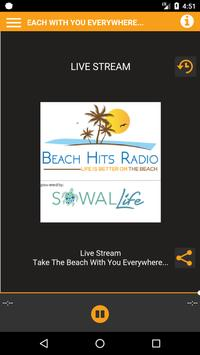 Beach Hits Radio poster