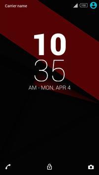 Minimalist-Xperia Theme apk screenshot