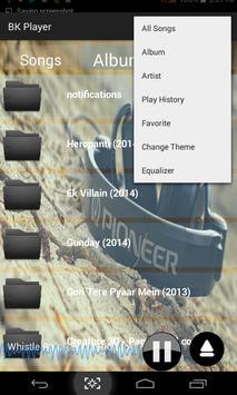 BK Media Player screenshot 1