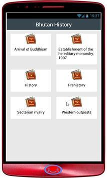 Bhutan History apk screenshot