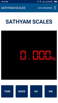 SATHYAM SCALES apk screenshot