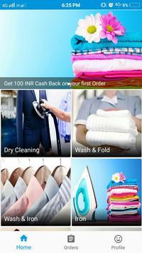 Dhobi Uncle - A laundry App screenshot 1
