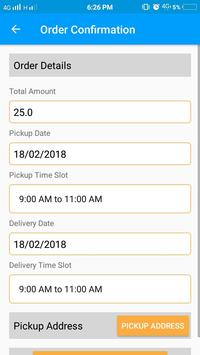 Dhobi Uncle - A laundry App screenshot 4
