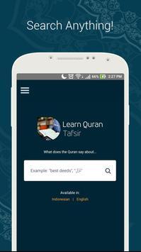 Learn Quran Tafsir: Google for Quran poster