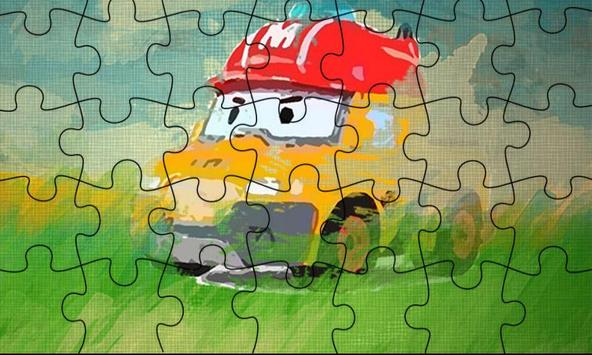 Painting Puzzle Robocar Art Jigsaw apk screenshot