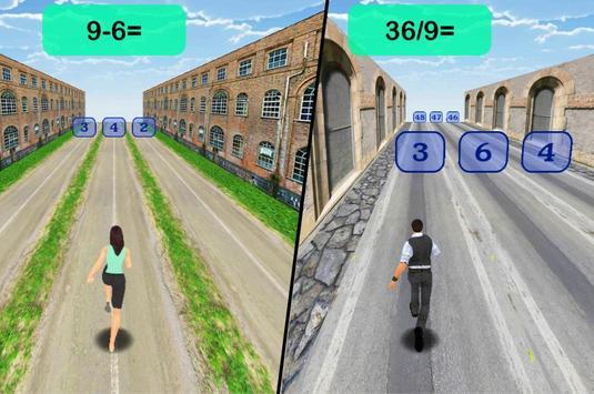 Math Run screenshot 2