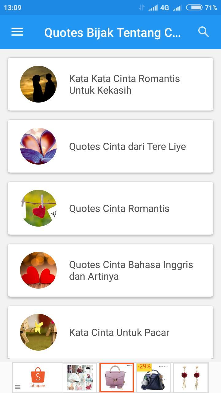 Quotes Bijak Tentang Cinta For Android Apk Download
