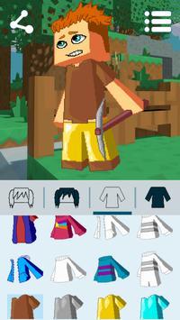 Avatar Maker: Cube Games 截圖 8