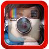 Transparent theme instagram icon