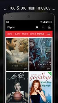 Flipps – Movies, Music & News screenshot 5