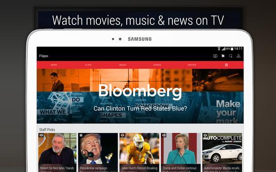 Flipps – Movies, Music & News screenshot 7