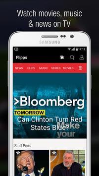 Flipps – Movies, Music & News poster