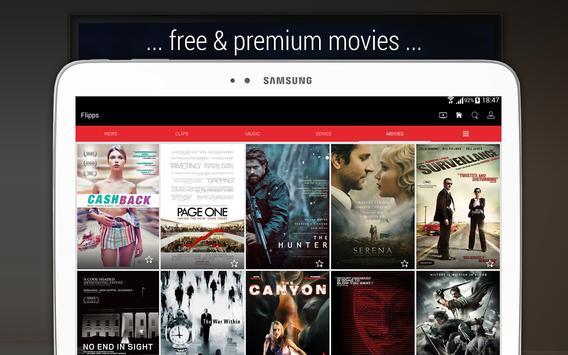 Flipps – Movies, Music & News screenshot 12