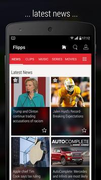 Flipps – Movies, Music & News screenshot 2
