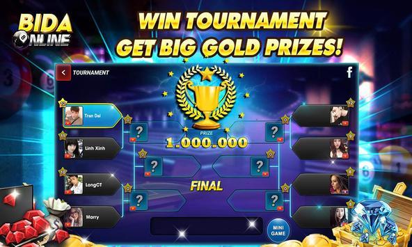 Bida Online: 8 Pool Pro, 7 Card, 1 Card apk screenshot